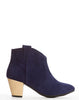 Ninette Pull-on Bootie - Navy - was $160