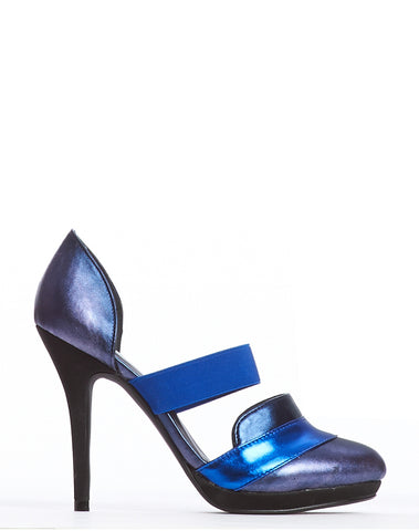 Arden Wohl x CDC Patmore D'orsay Stiletto - Blue - was $280