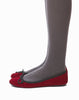 Pepper Ballet Skimmer - Red Velvet - was $60