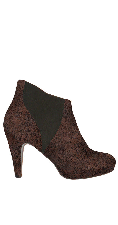 Scout Ankle Bootie - Chocolate