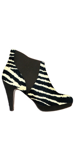 Scout Ankle Bootie - Zebra