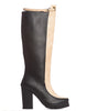 Arden Wohl x CDC Tennyson Tall Lug Boot - Black/Nude - was $340