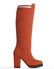 Arden Wohl x CDC Tennyson Tall Lug Boot - Pumpkin - was $340