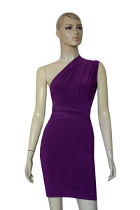 Plum Bridesmaids Dress Pencil Multi Way Dress Bridesmaids Convertible Gown Sexy Plus Size Outfit XS-5XL