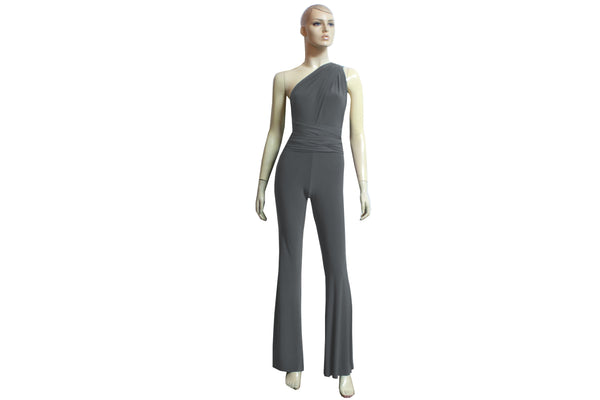 Flared Jumpsuit Infinity Gray Romper Bridesmaid Convertible Overall Playsuit Plus Size Prom Outfit Formal Bell Pants Jumpsuit XS-4XL