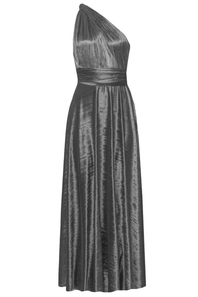 Convertible Bridesmaid Dress Crushed Velvet Gray Gown Infinity Long Dress Multi Way Plus Size Outfit Maternity Evening Fashion XS-5XL