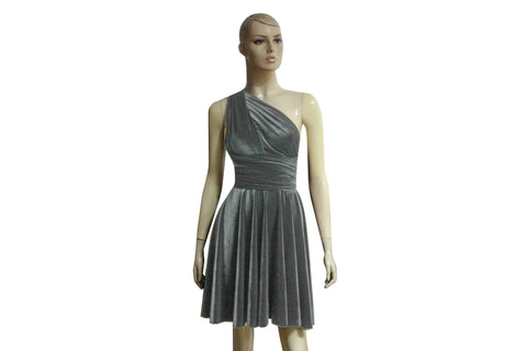 Short velvet dress Infinity bridesmaids dress Gray convertible dress Plus size prom gown Formal dress XS-5XL