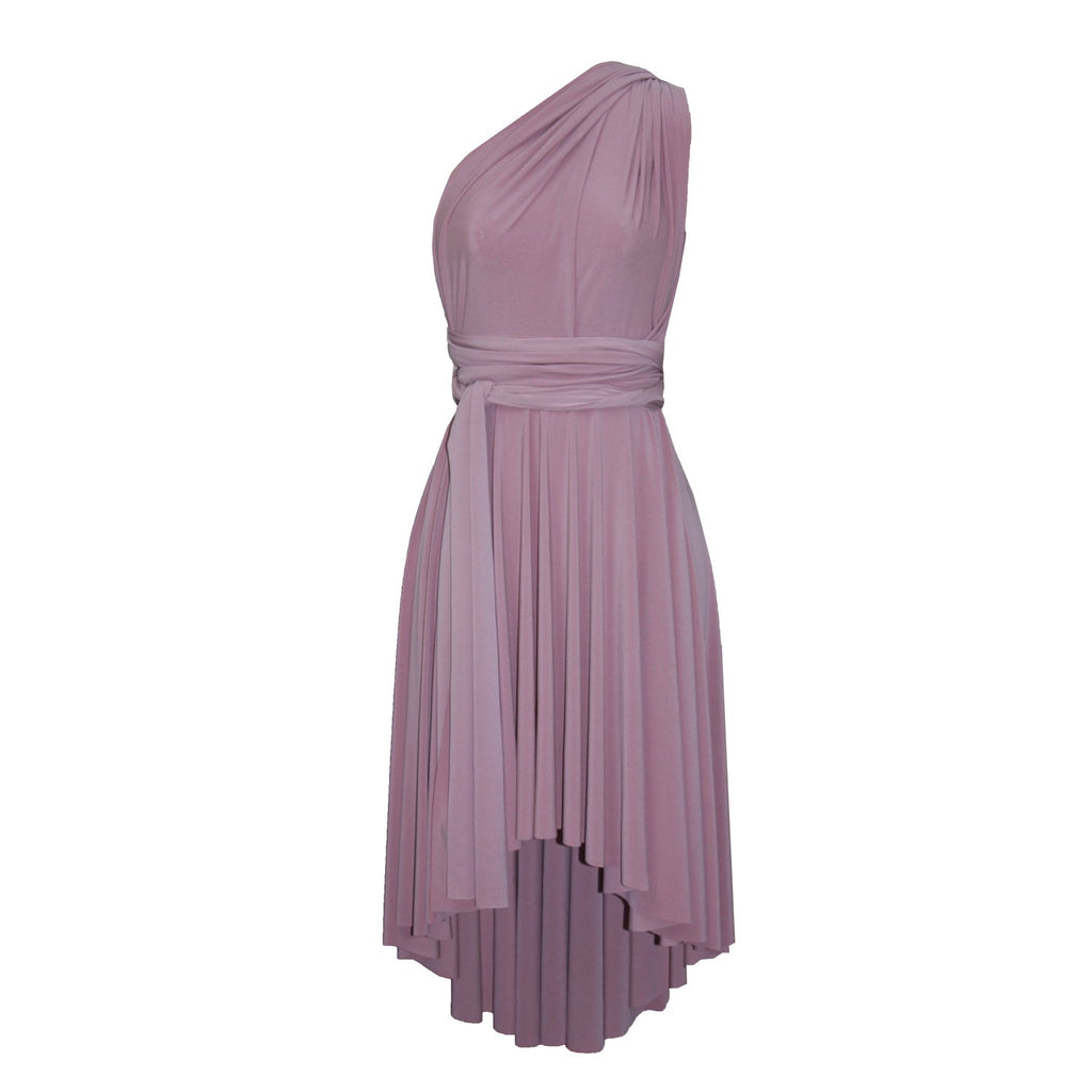 14912f3cc14 ... High low infinity bridesmaid dress Dusty pink convertible gown for prom  evening   formal occasions XS ...