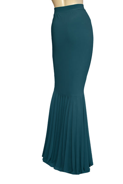 Mermaid dress Teal bridesmaid gown Infinity long dress Convertible plus size dress Prom fish tail gown XS-5XL
