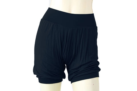 Iyengar yoga shorts Navy blue ballet dance jersey pants