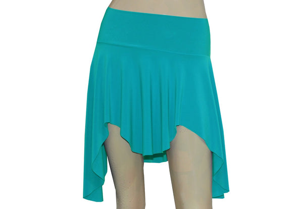 Pixie Mini Skirt Mint Green Elf Tribal Sexy Skirt Dance Skater Flirty Beach Skirt