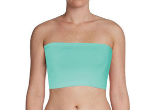 Tiffany blue Bandeau Bra Tube Top for Twist Wrap Dress XS-5XL