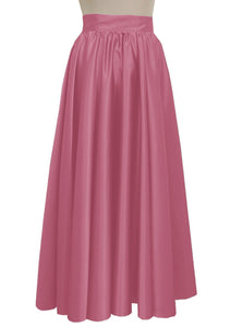 Duchess long skirt Light pink formal evening maxi skirt Prom Bridesmaid skirt