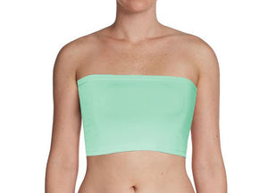 Spearmint Bandeau Tube Top for Twist Wrap Dress XS-5XL