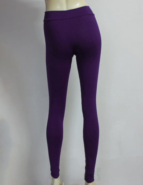 plum leggings plus size minimalist pants deep purple activewear tights