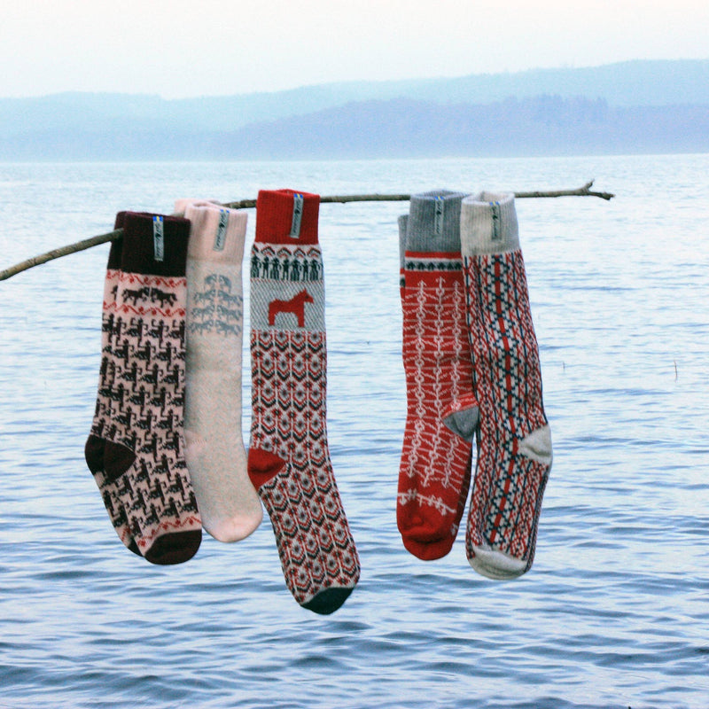 Skaftö Pattern Swedish Socks Ojbro Vantfabrik