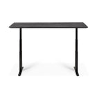 Oak Black Table Top - For Bok Adjustable Desk