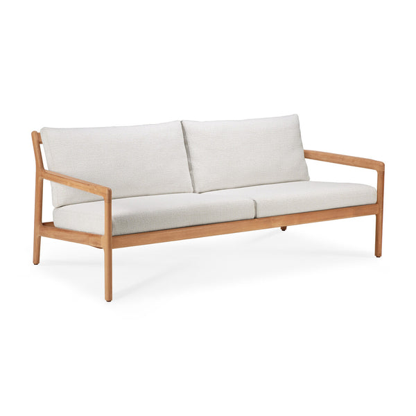 Teak Jack Outdoor Lounge Sofa - 2 Seater
