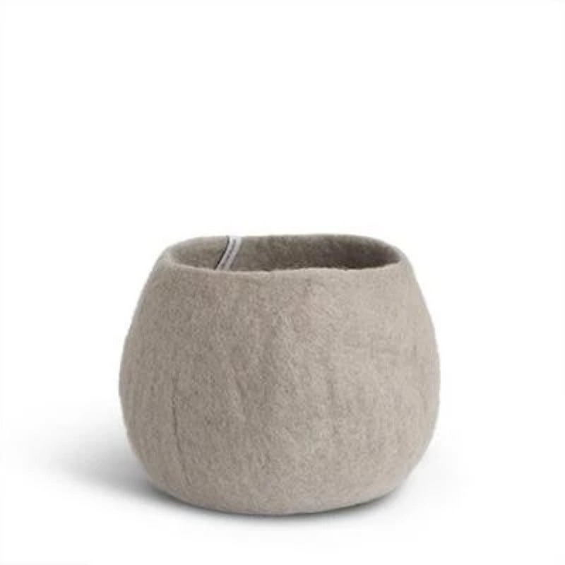 Aveva Design Rounded Wool Flower Pot