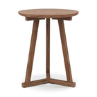 Teak Tripod Side Table