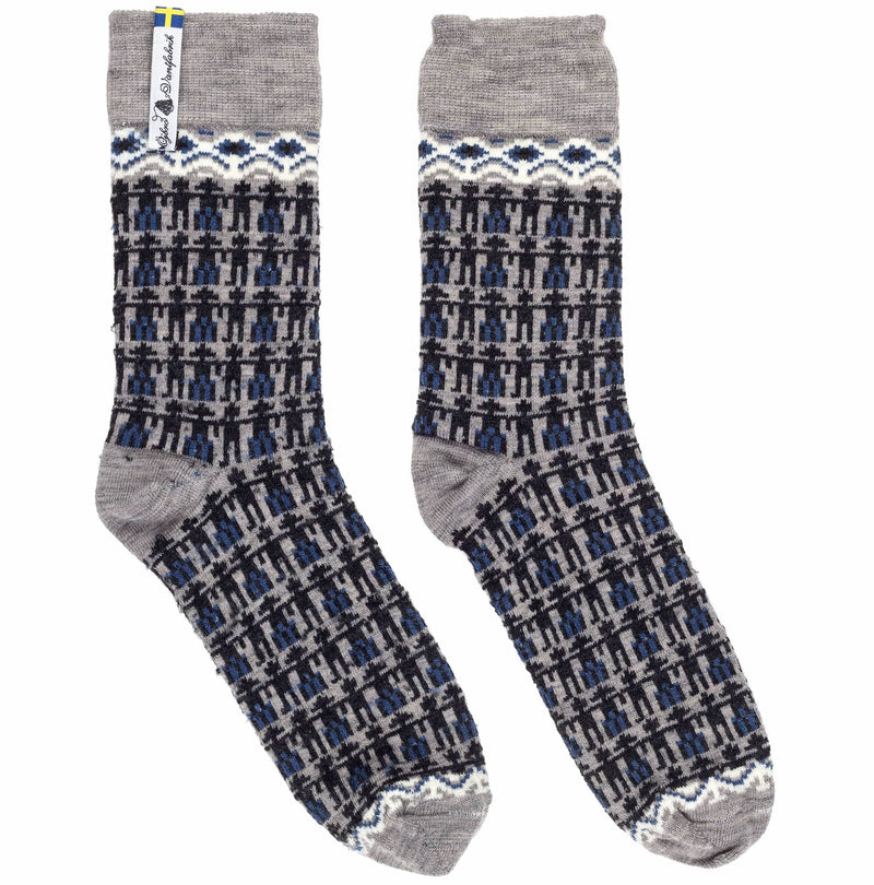 Kören Pattern Swedish Everyday Socks Ojbro Vantfabrik