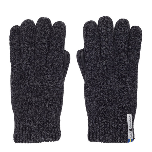 Swedish Merino Wool Touchscreen Gloves - Karg Rörö Pattern - Ojbro Vantfabrik