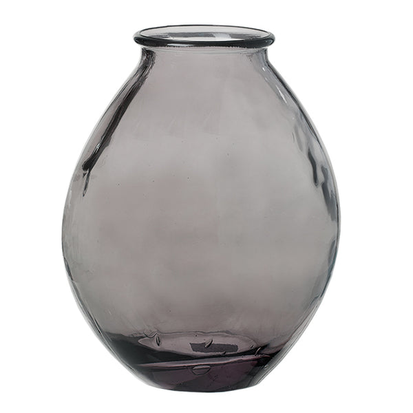Recycled Glass Vase by Lübech Living