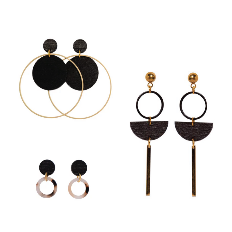 Earrings by Studio Nok Nok