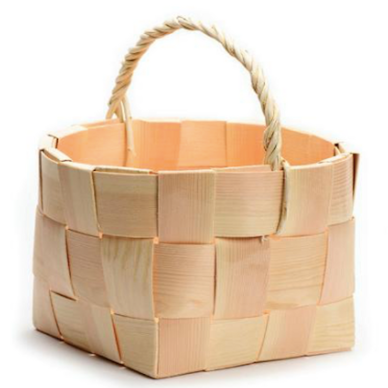 Swedish Woven Pine Splnt Baskets
