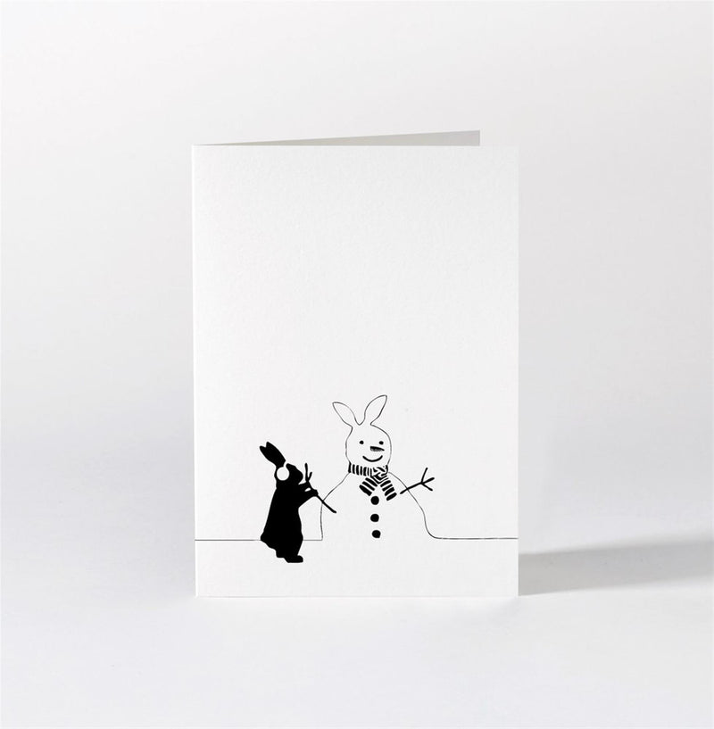 HAM Rabbit Christmas Cards