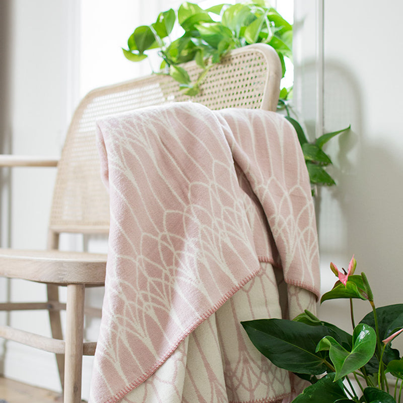 Abbey Cotton Blanket by Lina Johansson