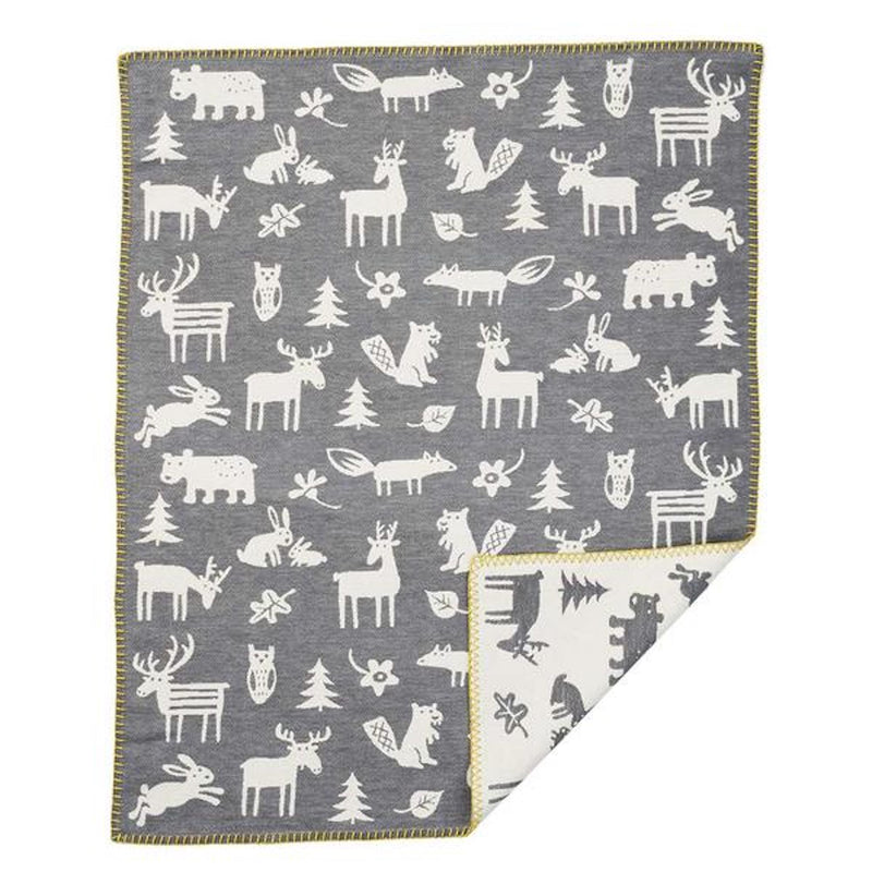 Klippan Forest Small Brushed Cotton Blanket