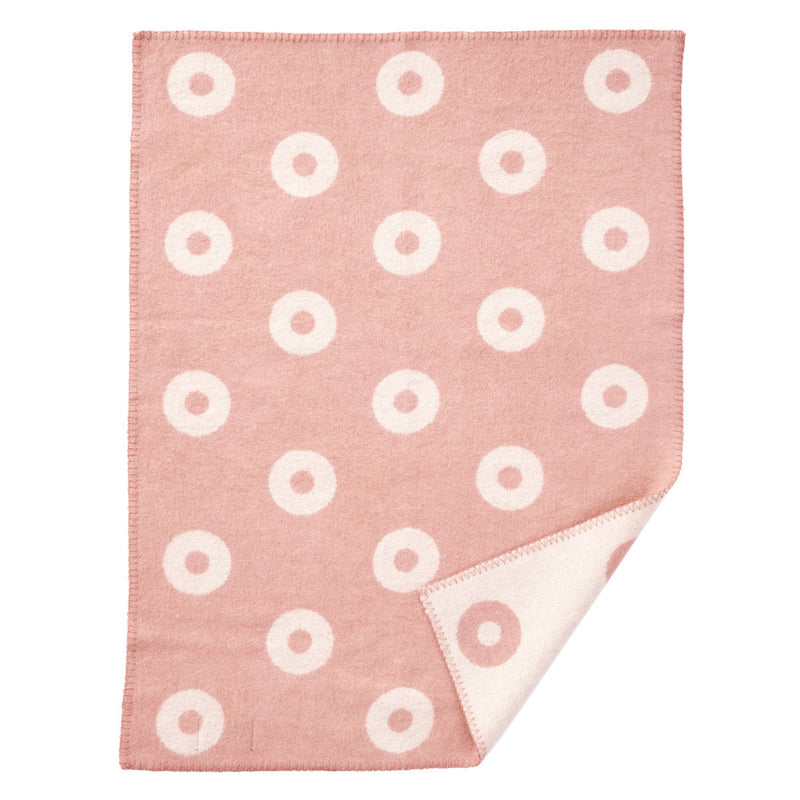 Klippan Rings Eco Lamb's Wool Baby Blanket
