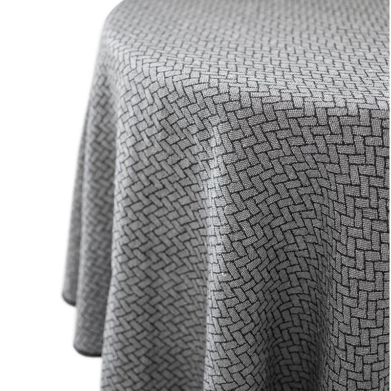 Round Brick Tablecloth by Lina Johansson
