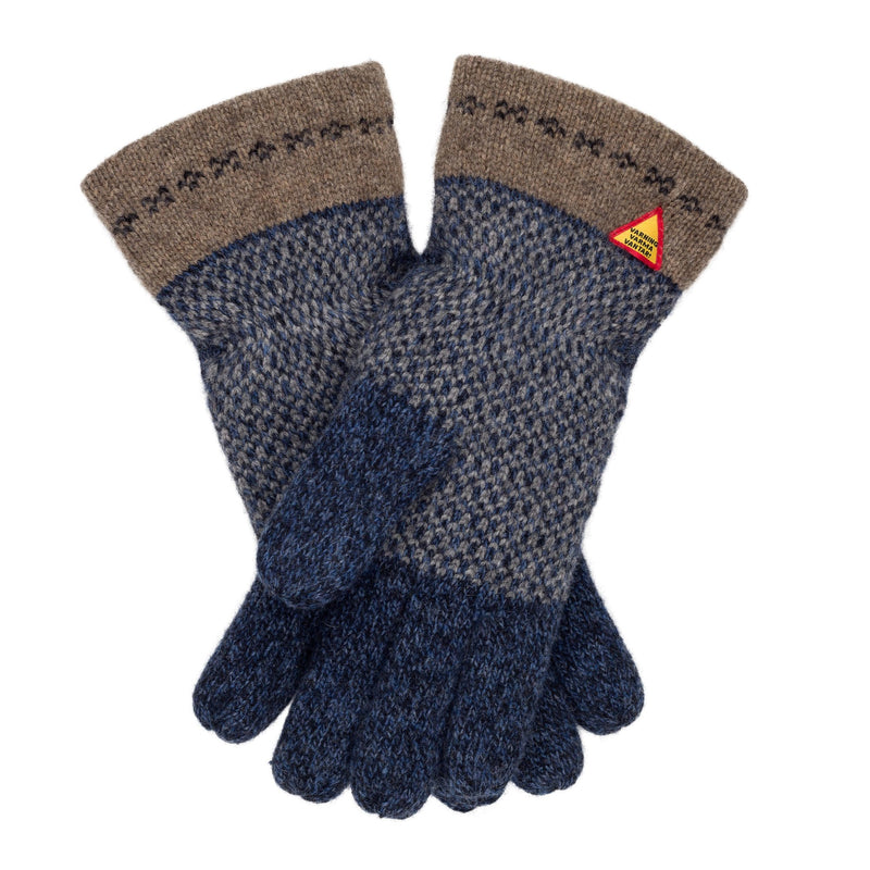 Skaftö Pattern Swedish Merino Wool Gloves Ojbro Vantfabrik