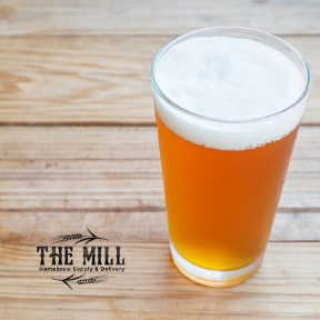 The Mill Homebrew's Virgin IPA all grain recipe is a homebrew recipe that is easy for first time brewing.