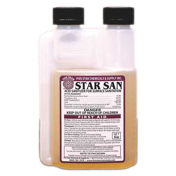Five Star Star San 8 oz