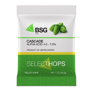 Cascade (US) Hop Pellets 1 oz