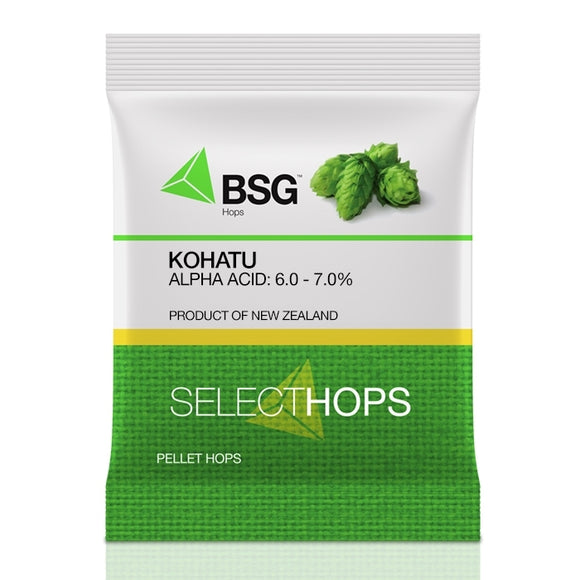 Kohatu® (NZ) Hop Pellets 1 oz