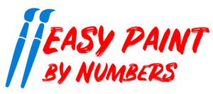 paint by number kits for adults - easy paint by numbers