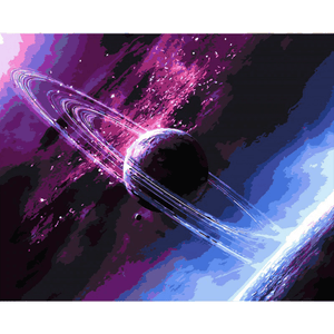 Space Mystery - Paint By Numbers Kit For Adults - Easy Paint By Numbers - DIY Miss