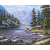 River Stream - Paint By Numbers Kit For Adults - Easy Paint By Number Kits for adults- DIY Land