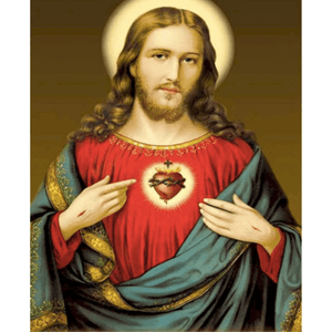 Jesus - Paint By Numbers Kit For Adults - Easy Paint By Number Kits for adults- DIY Objects