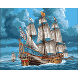 Sailing - Paint By Numbers Kit For Adults - Easy Paint By Number Kits for adults- DIY Ocean