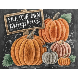 Halloween Pumpkins - Paint By Numbers Kit For Adults - Easy Paint By Numbers - DIY Land