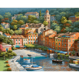 Romantic Water Town - Paint By Numbers Kit For Adults - Easy Paint By Number Kits for adults- DIY City