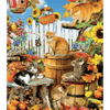 Cute Cats & Sunflower - Paint By Numbers Kit For Adults - Easy Paint By Number Kits for adults- DIY Animals