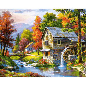 Rural - Paint By Numbers Kit For Adults - Easy Paint By Numbers - DIY Land