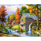Rural - Paint By Numbers Kit For Adults - Easy Paint By Number Kits for adults- DIY Land