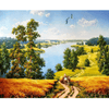 Rural Landscape - Paint By Numbers Kit For Adults - Easy Paint By Number Kits for adults- DIY Land